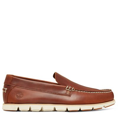Tidelands+Venetian+Slip+On+Shoe+for+Men+in+Brown
