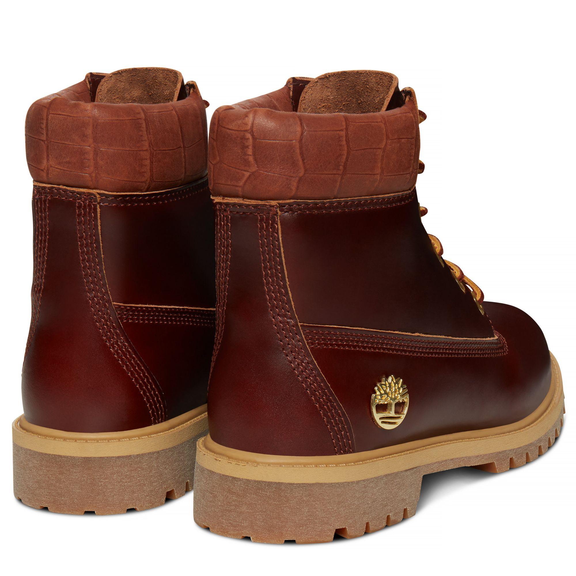 Timberland Junior 6 Inch Boot Dark Brown Reptile At 120 Love The Trumph Phantom Boots Darkbrown 5