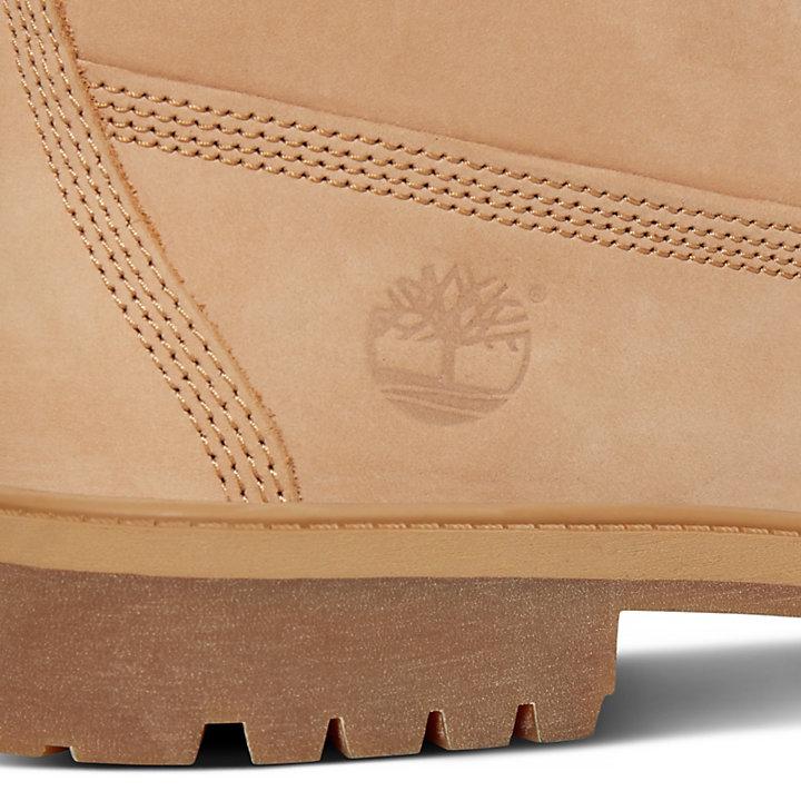 Junior 6-inch Waterproof Boot Beige-