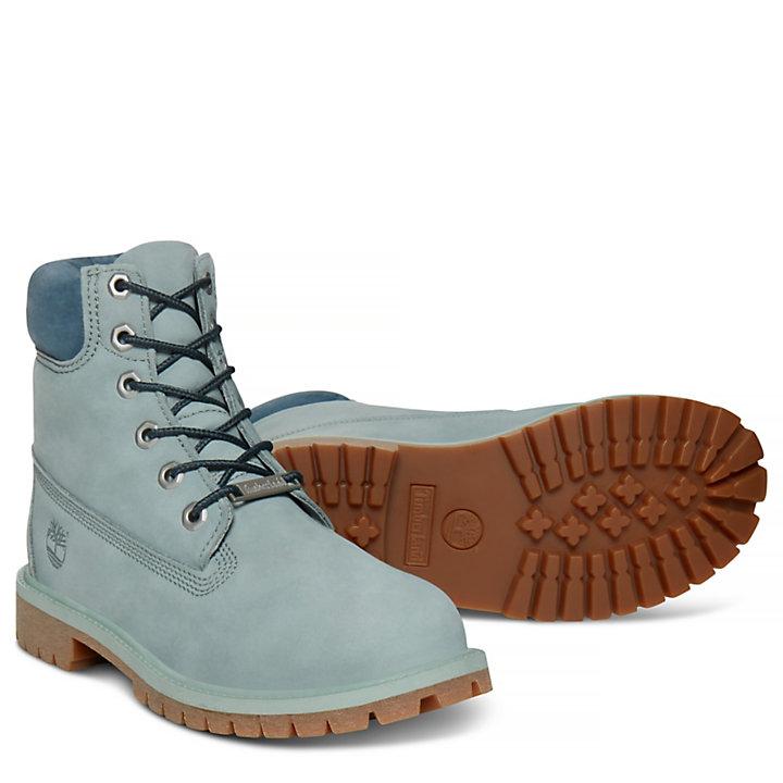 Junior 6-inch Waterproof Boot Light Green-