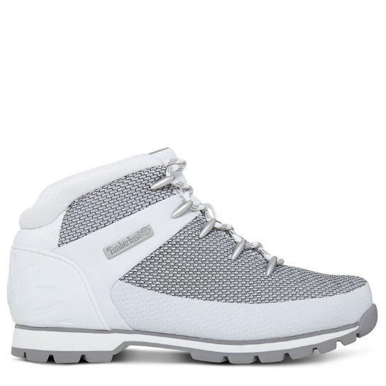 Euro Sprint Fabric Hiker Blanco/Gris Hombre | Timberland