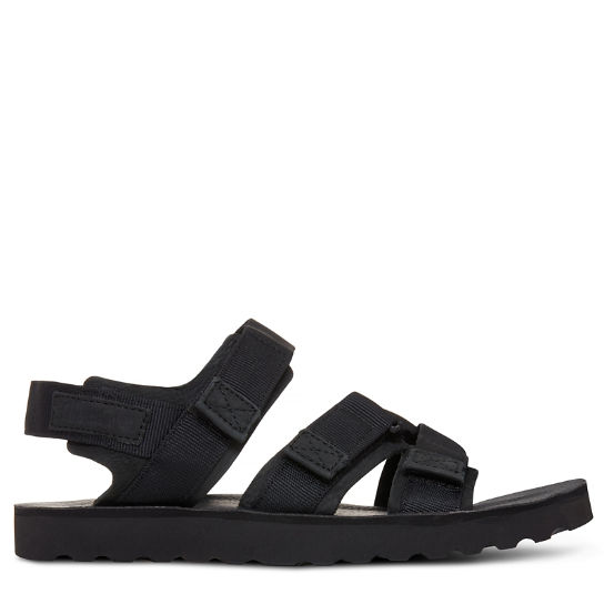 Herren Pierce Point Sandal Schwarz | Timberland