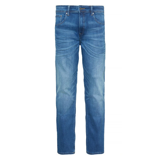 Herren Squam Lake Denim Stretch Indigo | Timberland