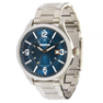 Dark Blue Face Stainless Steel Band