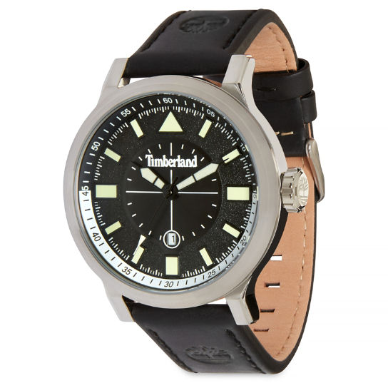 Driscoll Watch for Men in Black/Black | Timberland