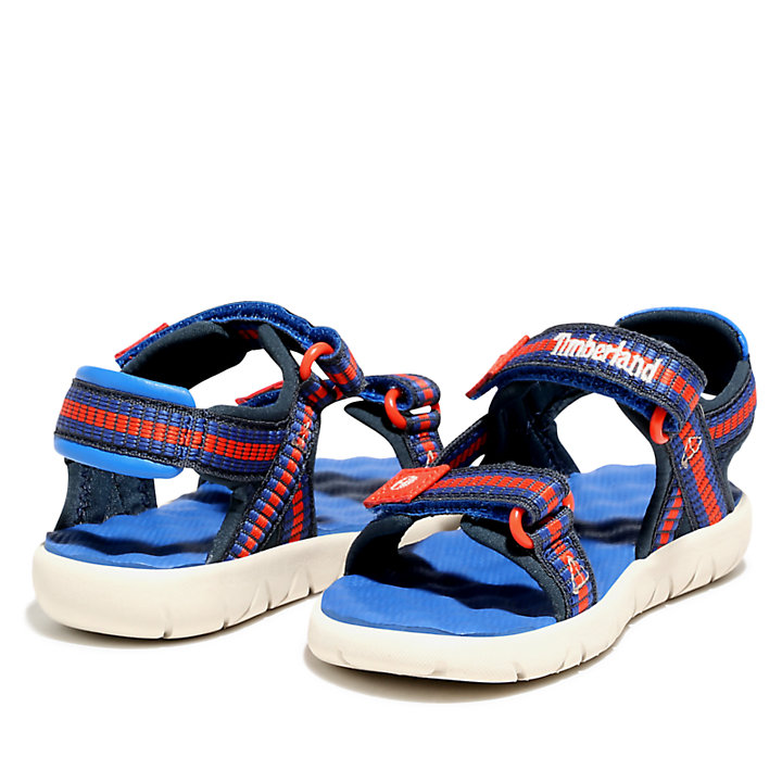 Perkins Row Sandal for Youth in Blue-