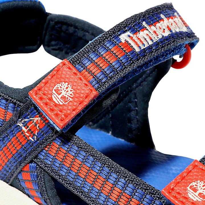 Sandalo da Bambino (dal 30,5 al 35) Perkins Row in blu-