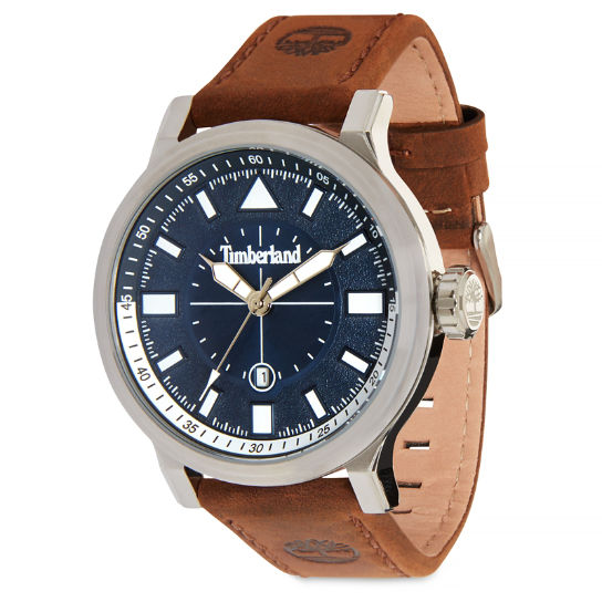 Driscoll Watch for Men in Blue/Brown | Timberland