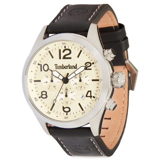 Ashmont Watch for Men in  Beige/Black | Timberland