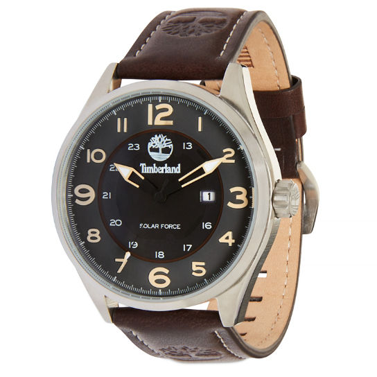 Men?s Farmington Watch Grey/Dark Brown | Timberland