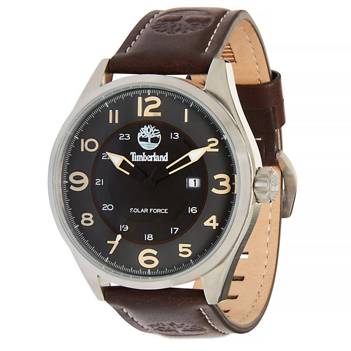 Farmington Watch for Men in Black/Brown-