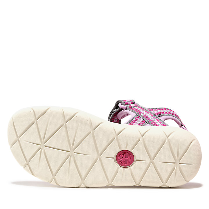 Perkins Row Sandal for Youth in Pink-
