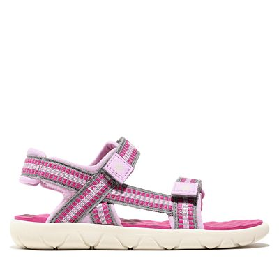 Perkins+Row+Sandal+for+Youth+in+Pink