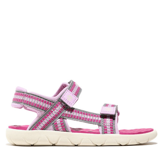 Perkins Row Sandal for Youth in Pink | Timberland