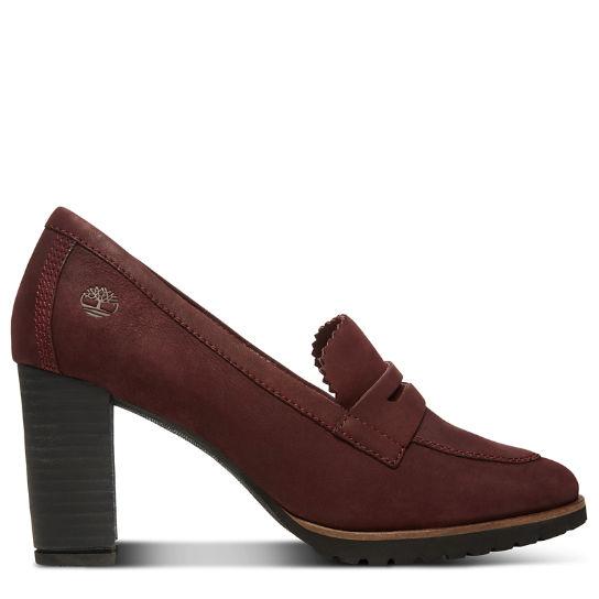 En Pour Leslie Femme Bordeaux Timberland Décolletée Chaussure Anne aXwqq1