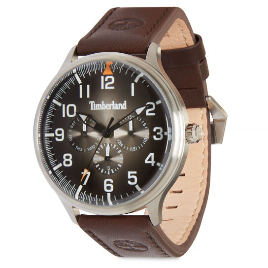 Blanchard Watch for Men in Black/Brown | Timberland