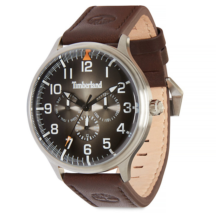 Blanchard Armbanduhr für Herren in Schwarz/Braun-