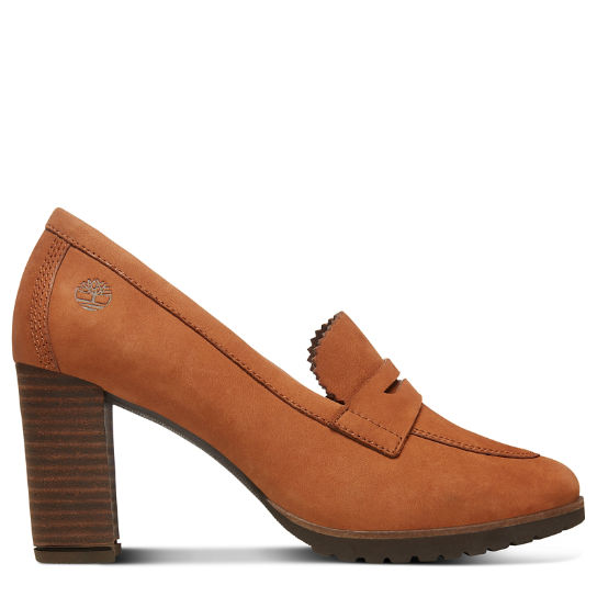 Leslie Anne Decollete Shoe for Women in Rust | Timberland