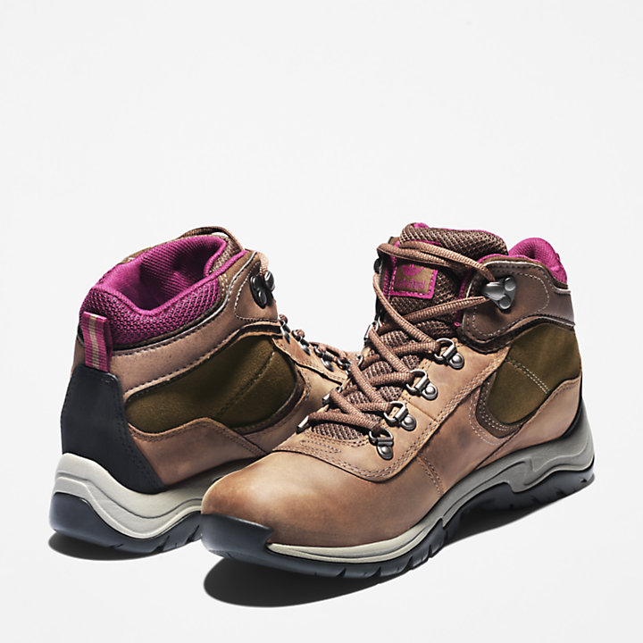Mt. Maddsen Hiking Boot for Women in Brown-
