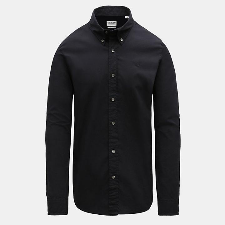 Chemise Saco River pour homme en noir-