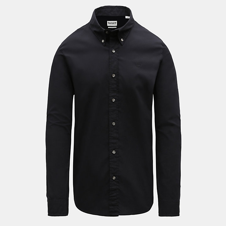 Camisa Saco River para Hombre en color negro-