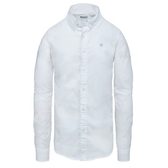 Chemise Saco River pour homme en blanc | Timberland