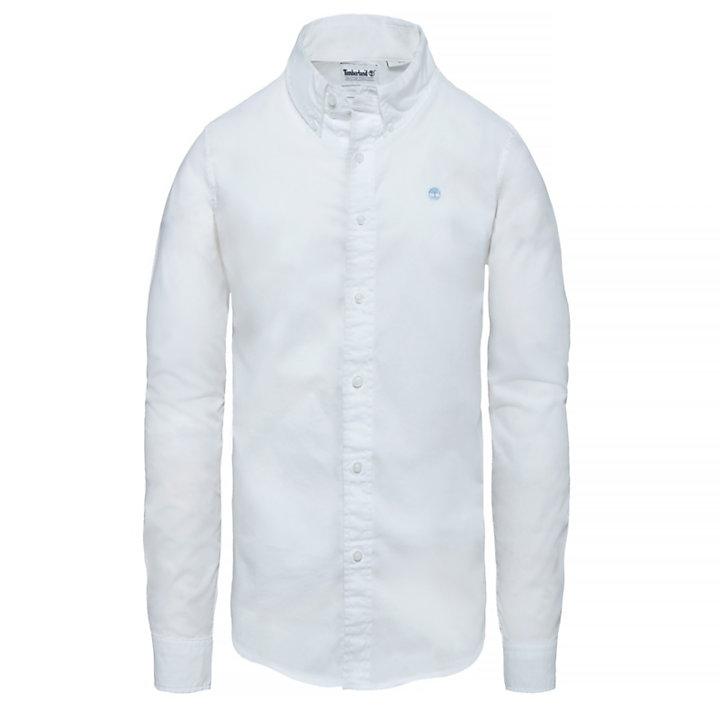 Saco River Overhemd voor Heren in wit-