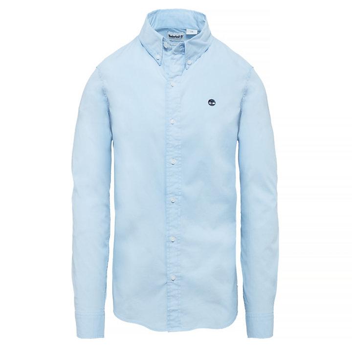 Camisa Saco River para Hombre en azul-