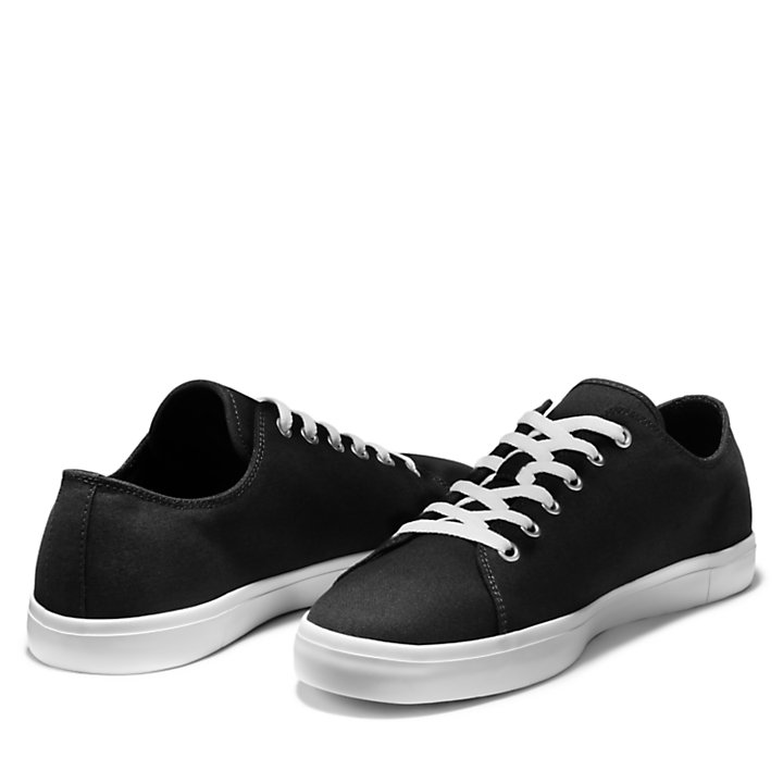 Union Wharf Trainer for Men in Black-