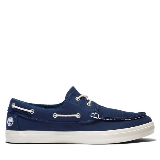 Union Wharf Boat Shoe for Men in Navy | Timberland