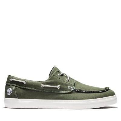 Union+Wharf+Boat+Shoe+for+Men+in+Green