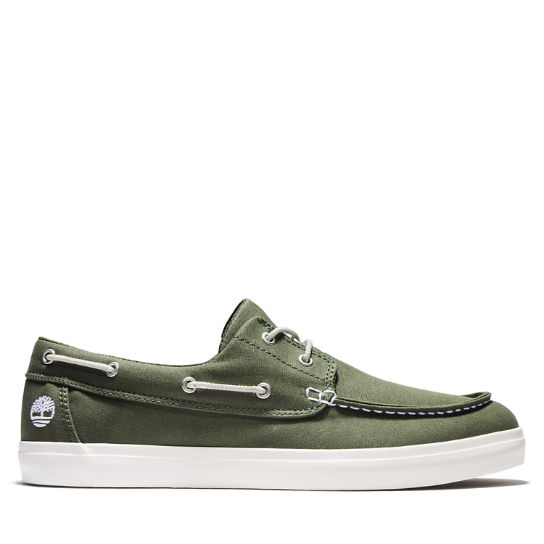 Men's Newport Bay Oxford Boat Shoe Green | Timberland