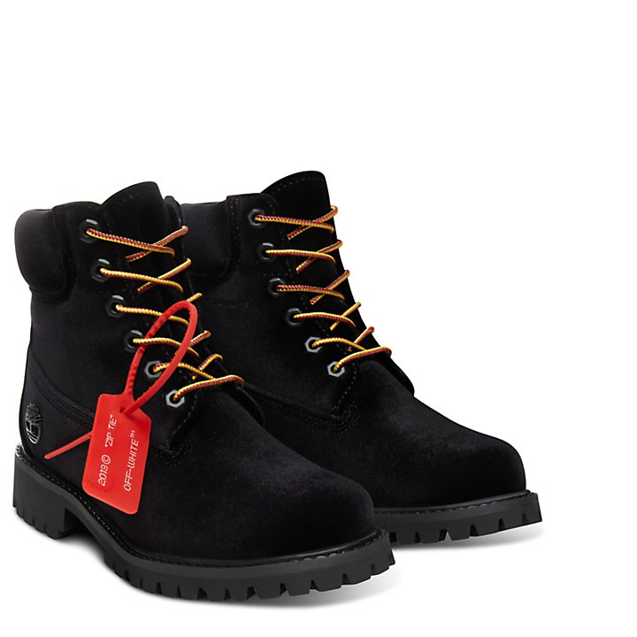 Timberland® x Off White 6-Inch Boot voor Dames-