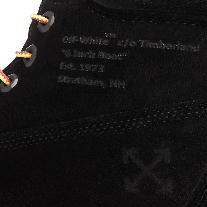 Scarponcino 6-Inch Donna Timberland® x Off White Nero-