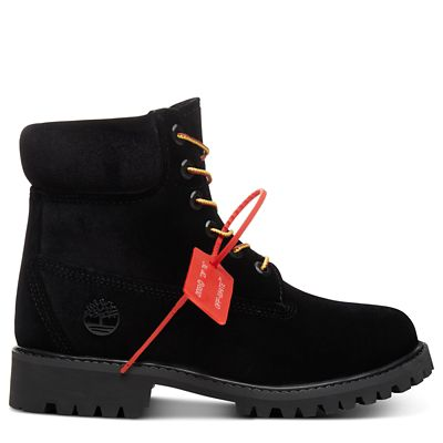 Timberland%C2%AE+x+Off+White+6+Inch+Boot+for+Women+in+Black