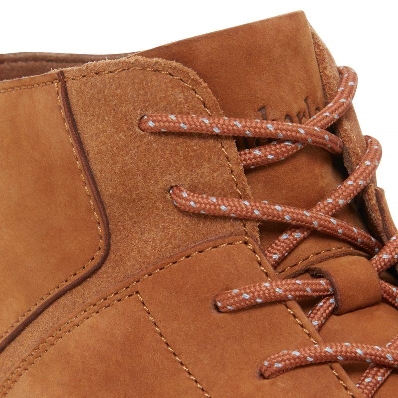 Timberland - flyroam leather trainer gelbbraun - 6