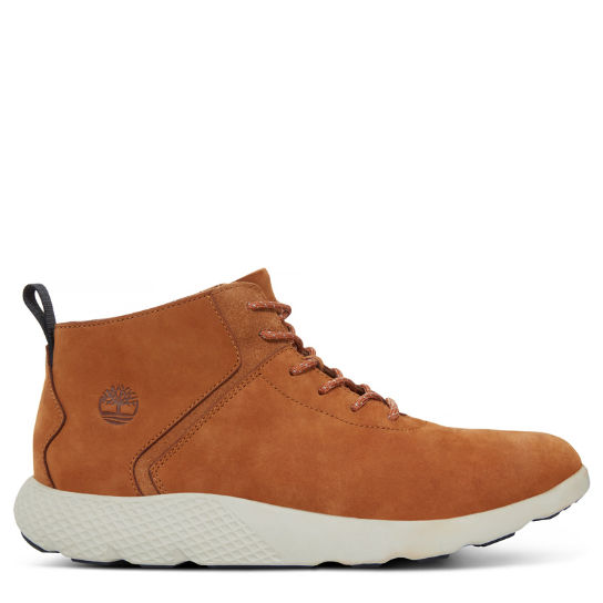 Flyroam Leather Trainer canela hombre | Timberland