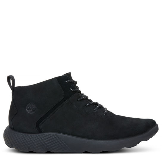 Flyroam Leather Trainer Homme noir monochrome | Timberland