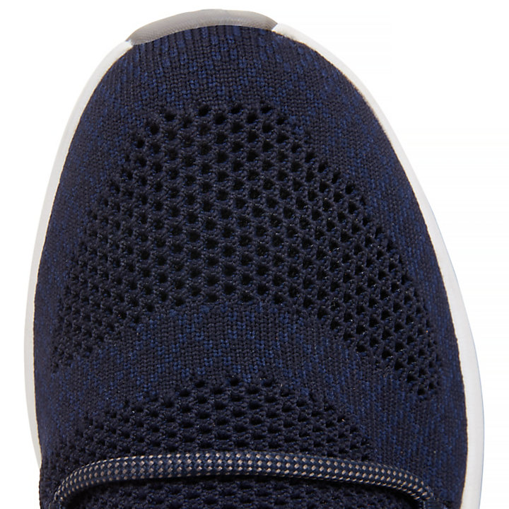 Flyroam Go Knitted Oxfordschuh für Herren in Navyblau-