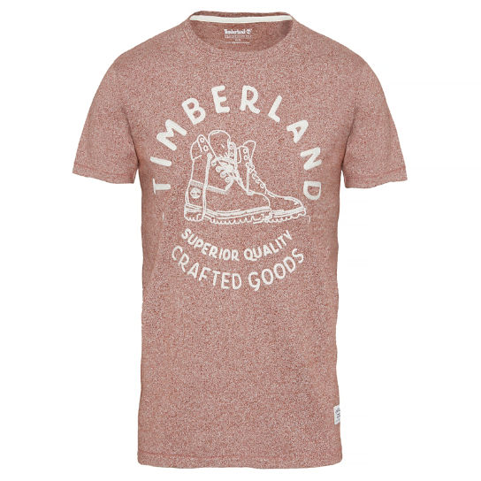 Kennebec River T-Shirt rojo hombre | Timberland