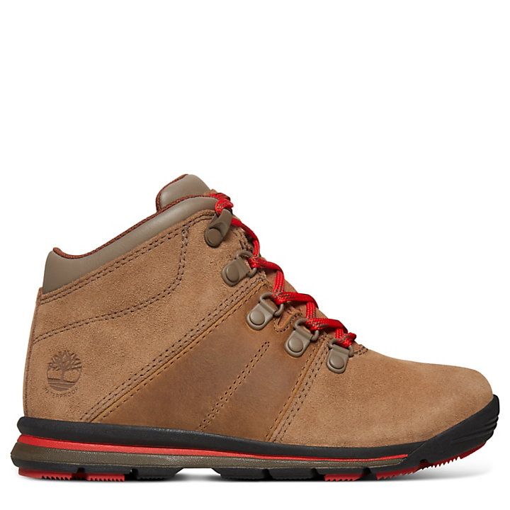 GT Rally Boot for Youth in Brown-