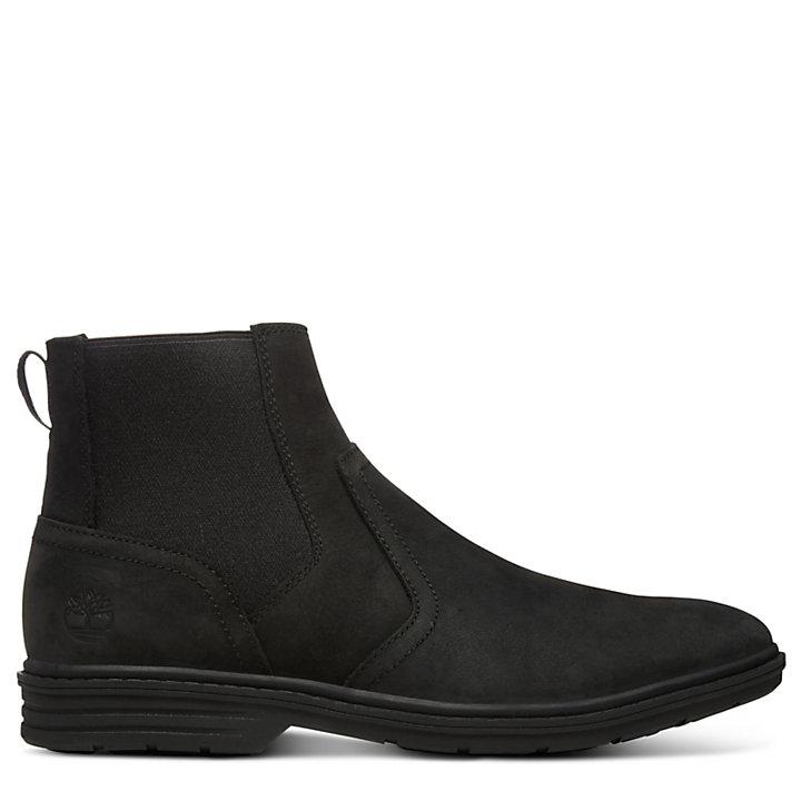 Sawyer Lane Chelsea Boot for Men in Black-