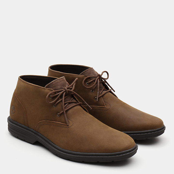 Chukka da Uomo Sawyer Lane in marrone-