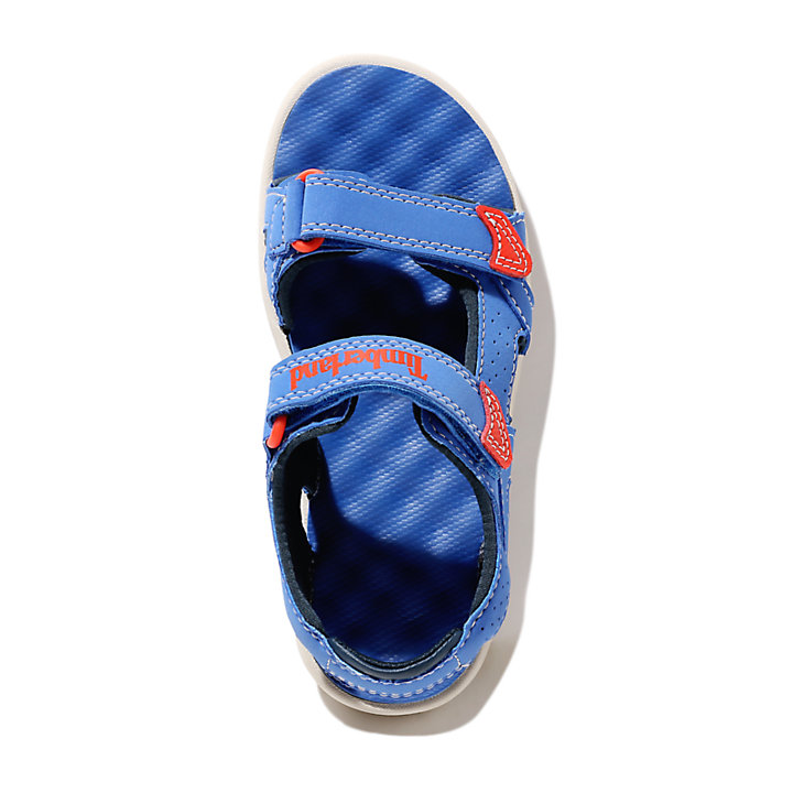Perkins Row Strappy Sandal for Toddler in Blue-