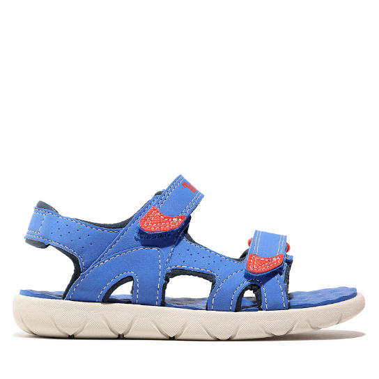 Perkins Row Strappy Sandal for Toddler in Blue | Timberland
