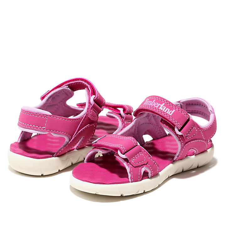 Perkins Row Strappy Sandal for Toddler in Pink-