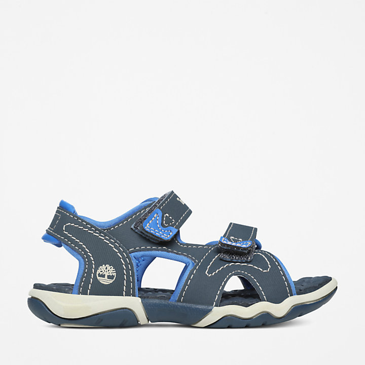 Sandalia de 2 Tiras Adventure Seeker para Niño (de 20 a 30) en azul marino/azul-
