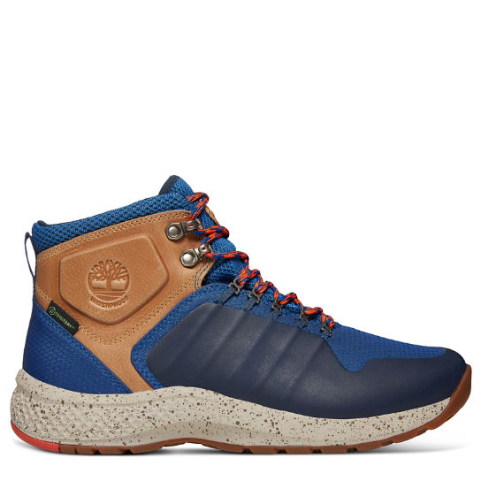 FlyRoam™ Trail Hiker Boot for Men in Blue | Timberland