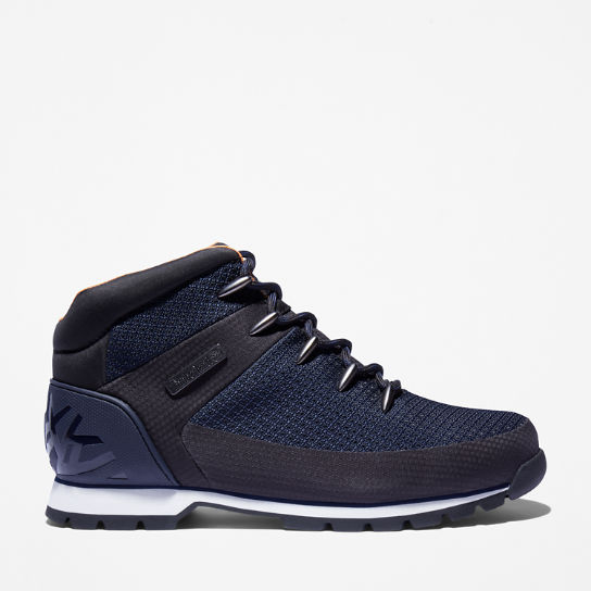 Euro Sprint Mid Hiker for Men in Navy | Timberland