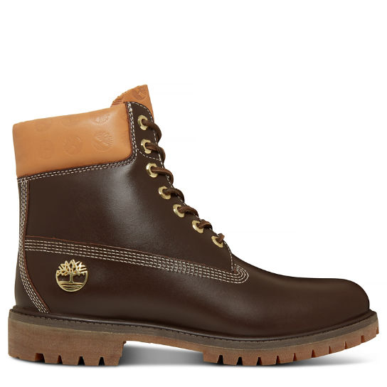 Men's 6-inch Boot Monogram Brown | Timberland